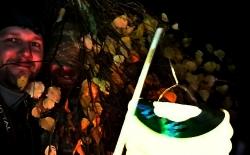 Strašidelná lampionová stezka