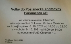 Volby do Poslanecké sněmovny PČR